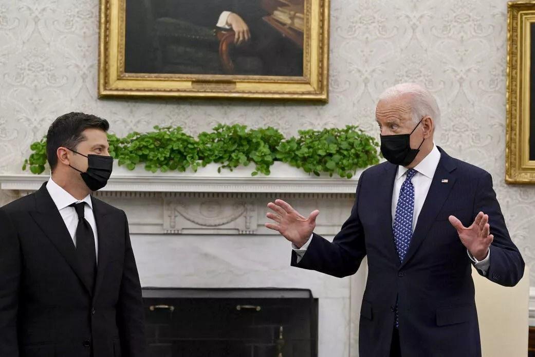 Встреча президента Украины Владимира Зеленского и президента США Джо Байдена: из Вашингтона Зеленский, если не делать хорошую мину при плохой игре, вернулся с пустыми руками.