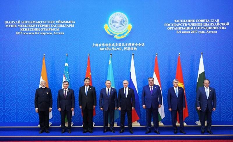 На саммите ШОС в Астане 9 июня 2017 г. лидеры государств-членов ШОС подписали решение о приёме Индии и Пакистана в организацию.