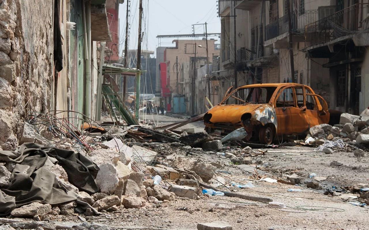 Американская авиация разбомбила в 2017 году миллионный город Мосул под предлогом того, что там находились боевики ИГИЛ.