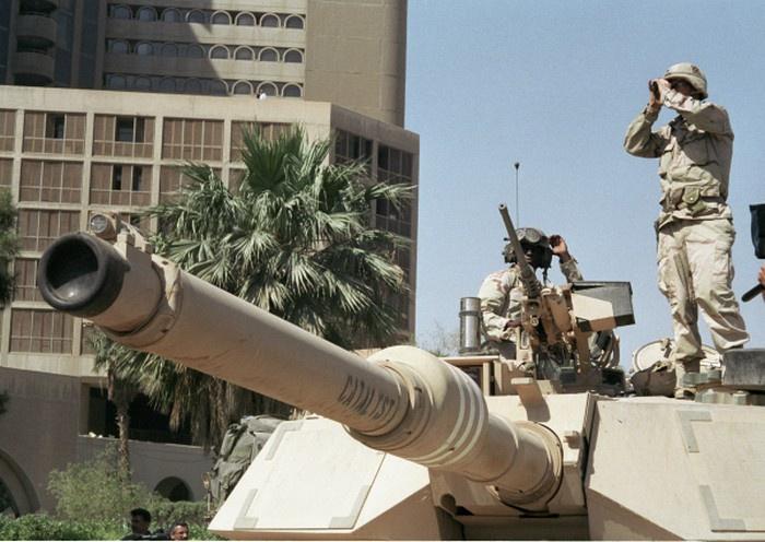 Впервые на практике NCW была применена в войне с Ираком в 2003 году.