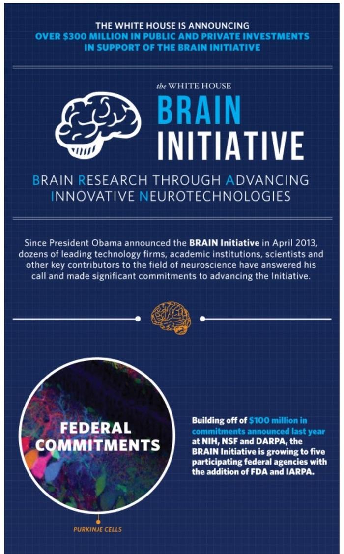 Официально было объявлено, что программа US BRAIN Initiative «направлена на революционное изменение нашего понимания человеческого мозга».