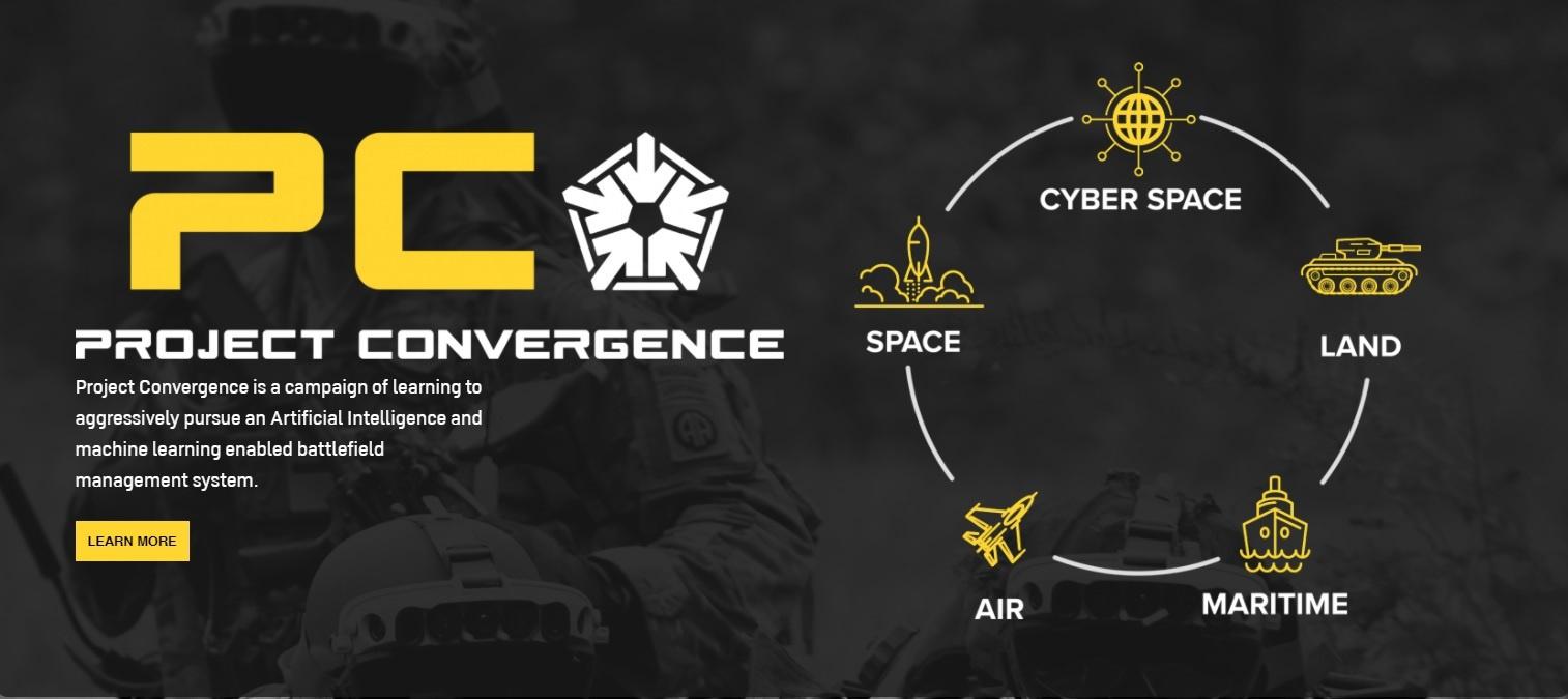 Проект «Конвергенция» курирует командование сухопутных войск США.