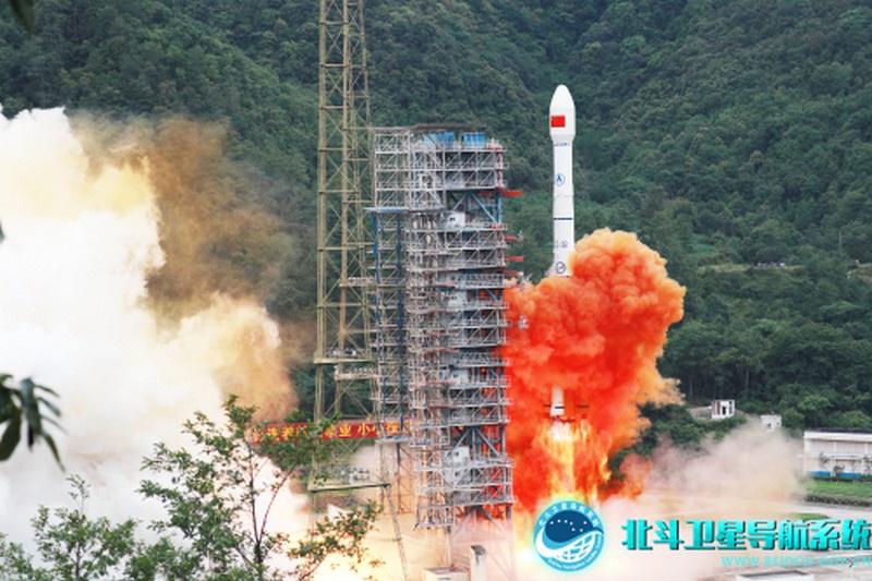 Запуск последнего 55-го спутника китайской навигационной спутниковой системы Beidou.