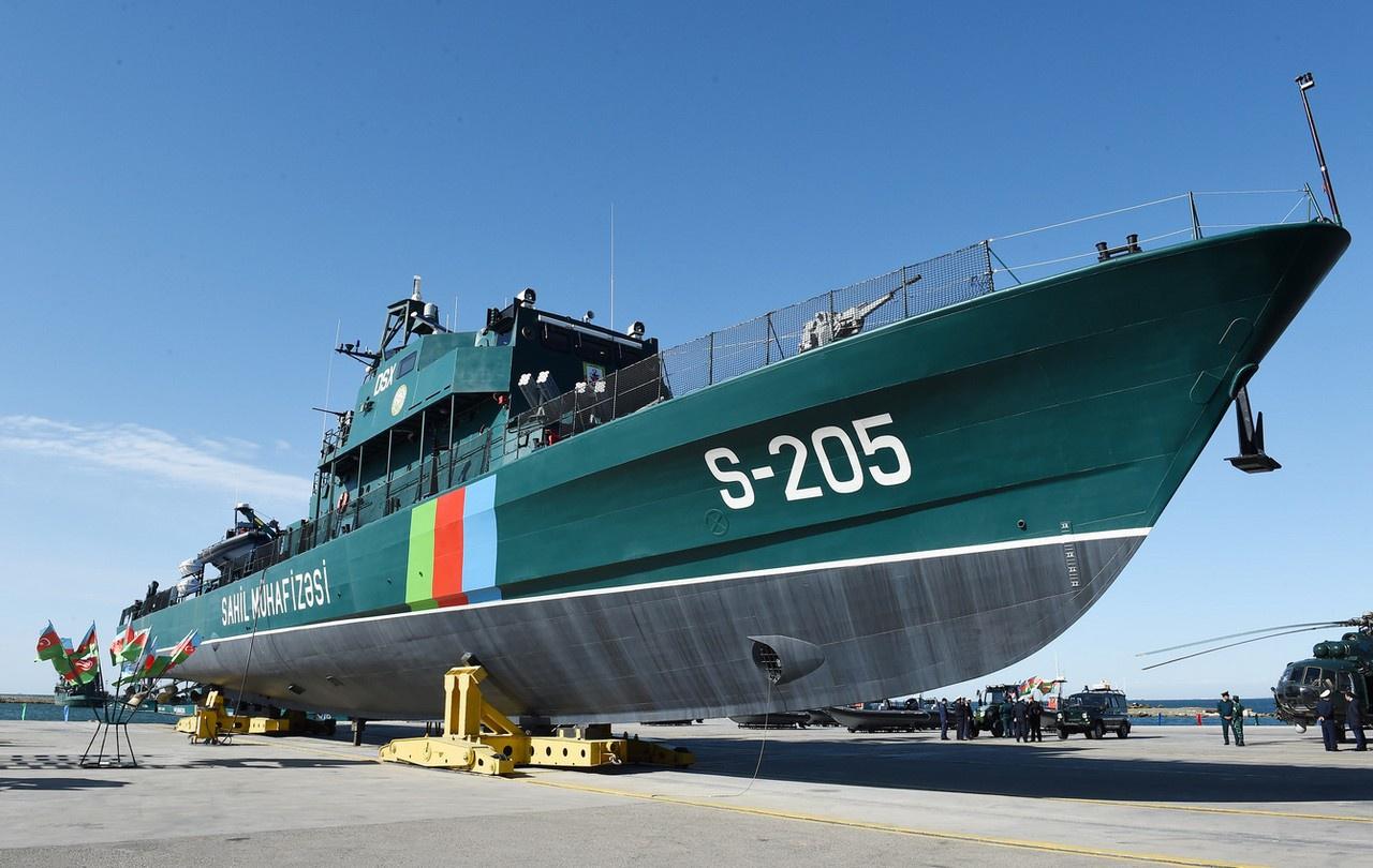 В последние годы по израильскому проекту OPV-62 в самом Азербайджане построены шесть патрульных кораблей типа «Туфан».