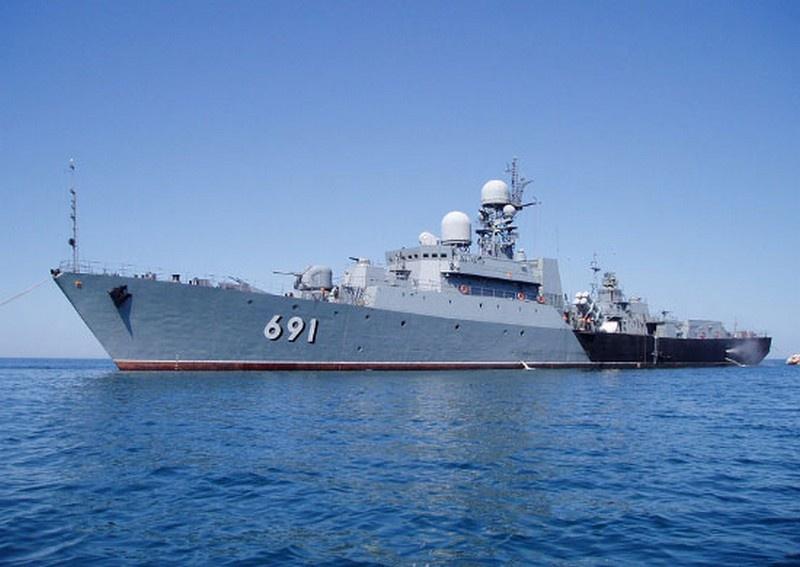 Сторожевой корабль проекта 1161К «Татарстан».