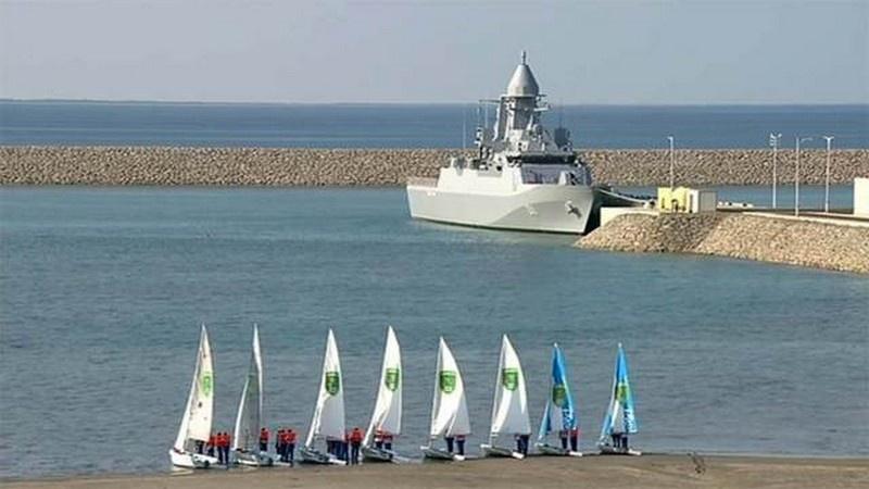 В 2021 году состоялся ввод в состав ВМС Туркмении корвета Deniz Han, который стал самой крупной единицей туркменского флота.