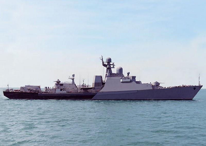 В 2015 году корабль «Дагестан» получил «боевое крещение» в Сирии.