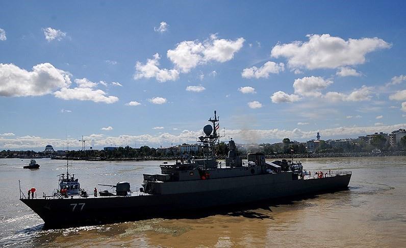 Фрегат «Дамаванд» - флагман Северного флота Ирана.