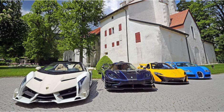 ВШвейцарии власти конфисковали принадлежавшие Обиангу-младшему шикарные автомобили.