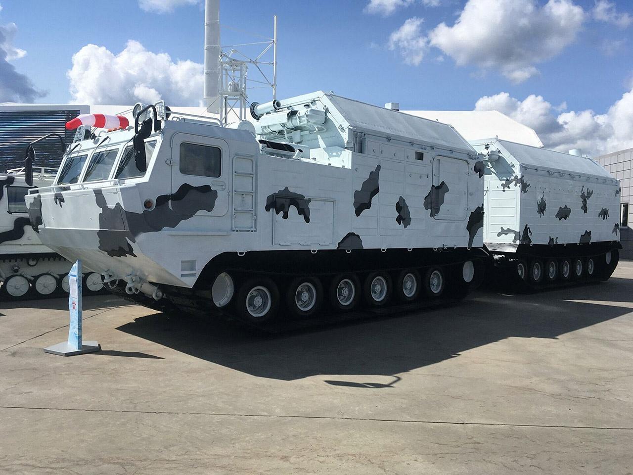 Арктическая кухня КА-250/30ПМ может накормить целый батальон.