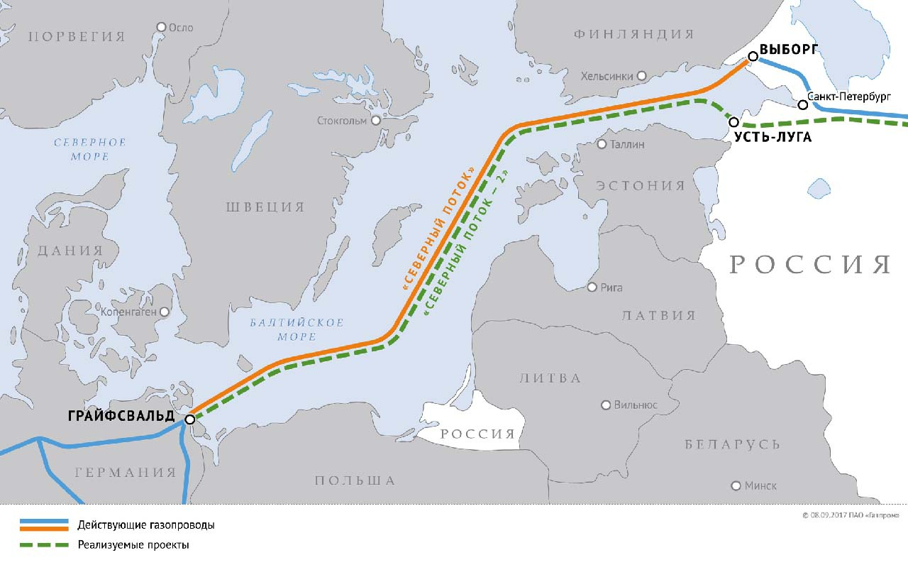 Упорной борьбой с газопроводами «Северный поток» и «Северный поток-2» Варшава сделала всё, чтобы дестабилизировать энергетическую ситуацию в Европе.
