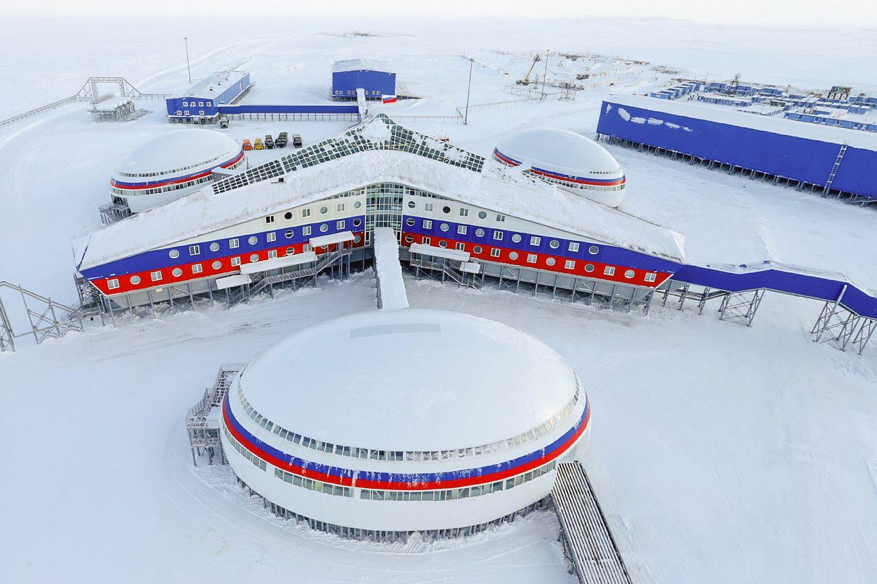 Площадь «Арктического трилистника» - более 14 тысяч квадратных метров.