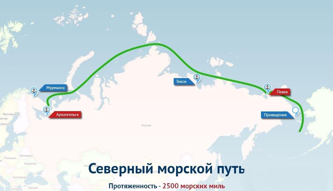 Доходы от коммерческой транспортировки грузов по нашему Северному морскому пути (СМП) могут составить миллиарды долларов.