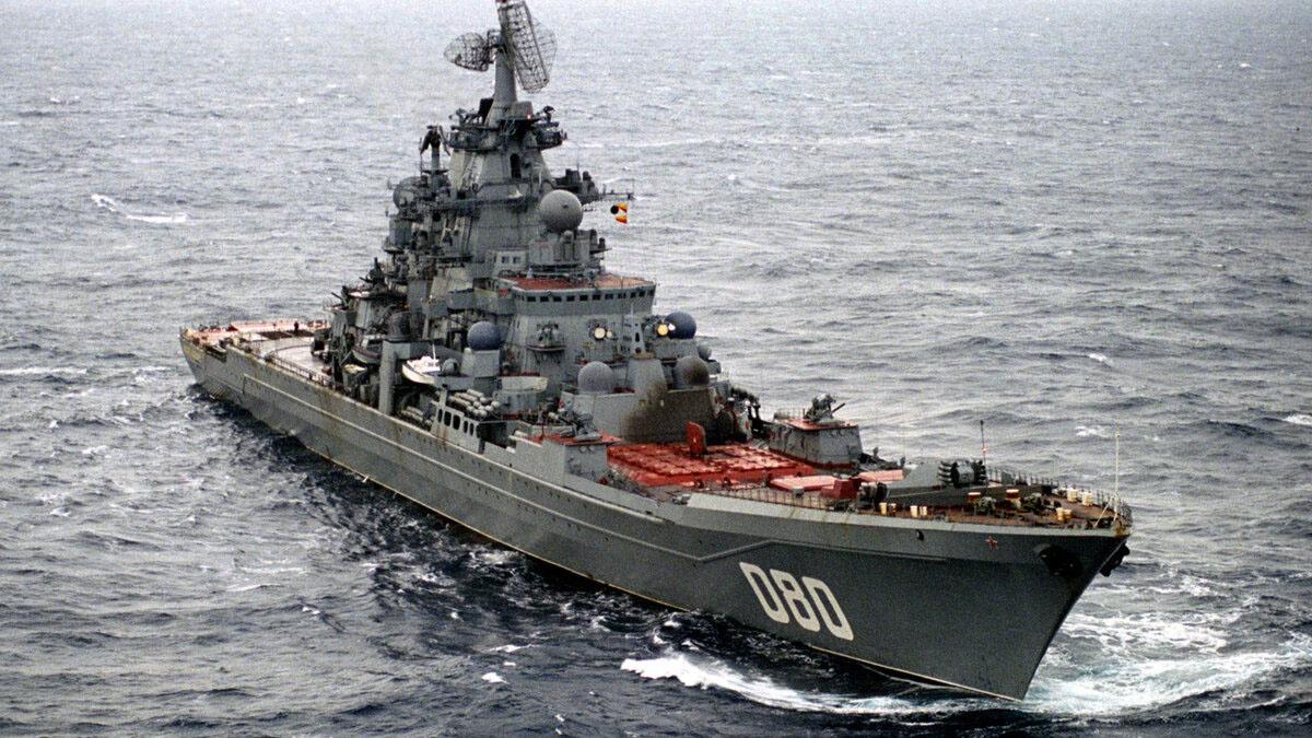 Новыми ракетами планируется оснастить тяжёлый атомный ракетный крейсер «Адмирал Нахимов».