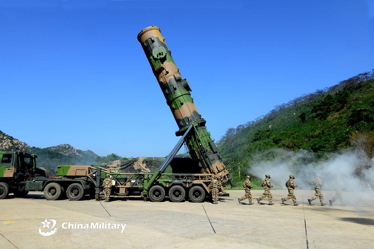 В случае конфликта Китай может достать членов AUKUS при помощи своих ракет.