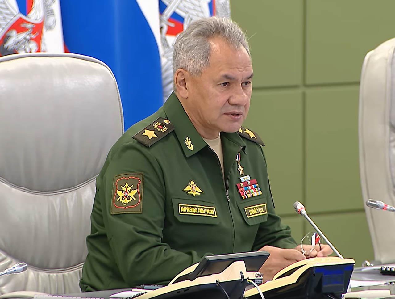 Министр обороны России генерал армии Сергей Шойгу.