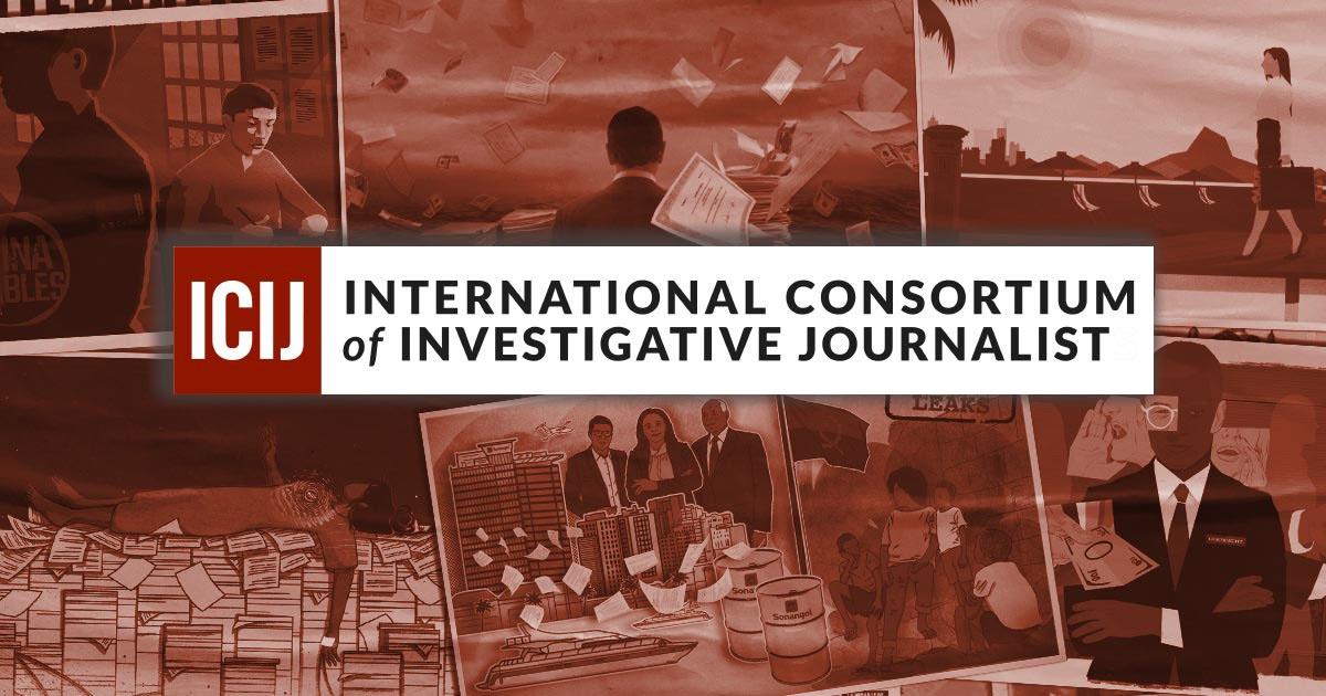 ICIJ - это «небольшая новостная редакция с собственной командой репортёров, а также с глобальной сетью репортёров и медиакомпаний, которые работают вместе, чтобы исследовать самые важные истории в мире».