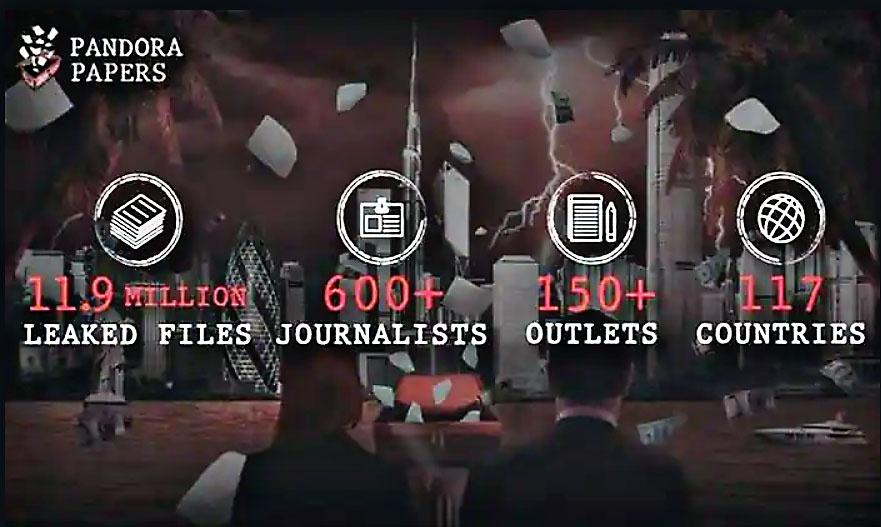 Это результат «крупнейшего в истории и в мире журналистского сотрудничества, в котором приняли участие более 600 журналистов из 150 средств массовой информации 117 стран».