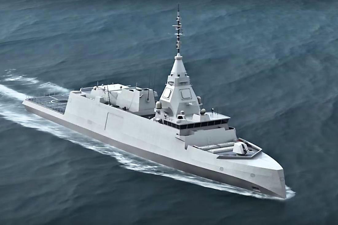 Греция заказала у французов новейшие французские фрегаты типа FDI.