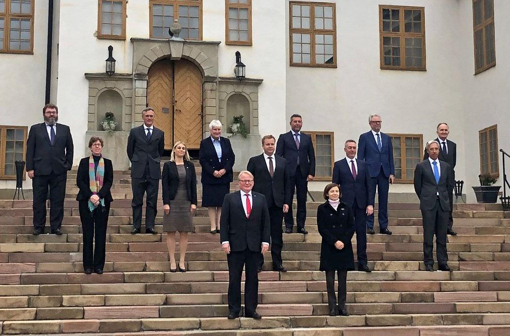 24 сентября в Стокгольме прошла встреча министров обороны 13 стран-участниц Европейской интервенционной инициативы.