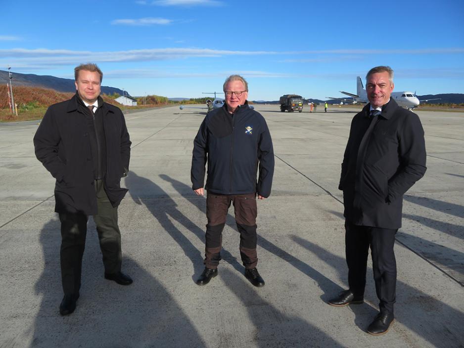 23 сентября 2020 года министры обороны Финляндии, Норвегии и Швеции встретились на базе Порсангмуэн на крайнем севере Норвегии, чтобы подписать трёхстороннее соглашение о военном сотрудничестве.