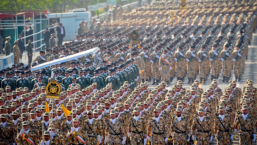 Парад иранской армии