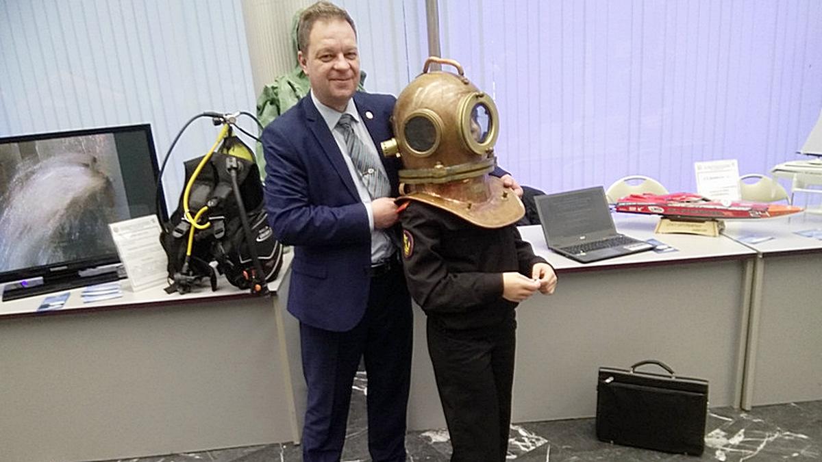 Зам. директора ММУСТЦ ДОСААФмайор запаса Владимир Печерников