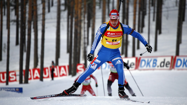 Двукратный чемпион мира Сергей Устюгов