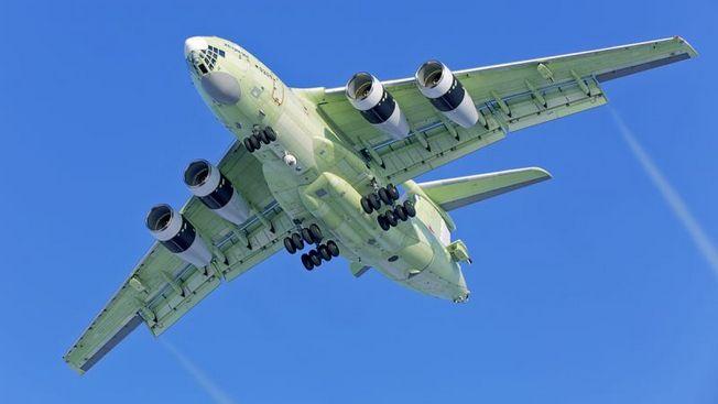 Первый полет совершил новейший топливозаправщик Ил-78М-90А