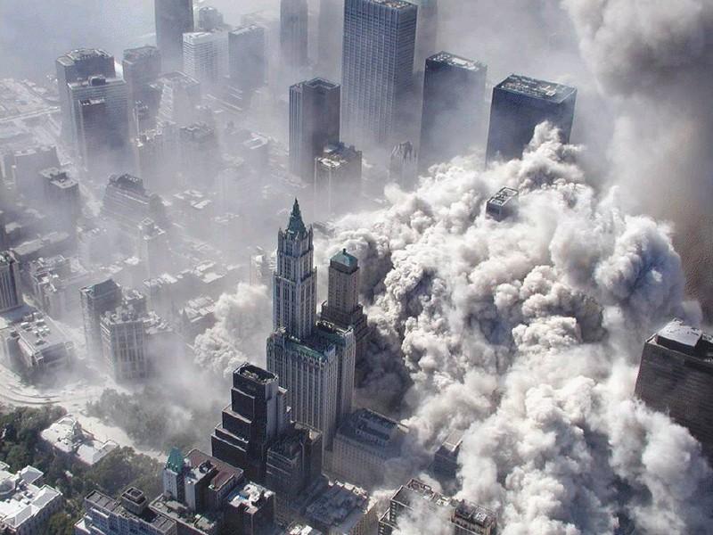 Терракт в Нью-Йорке 11 сентября 2001 года.