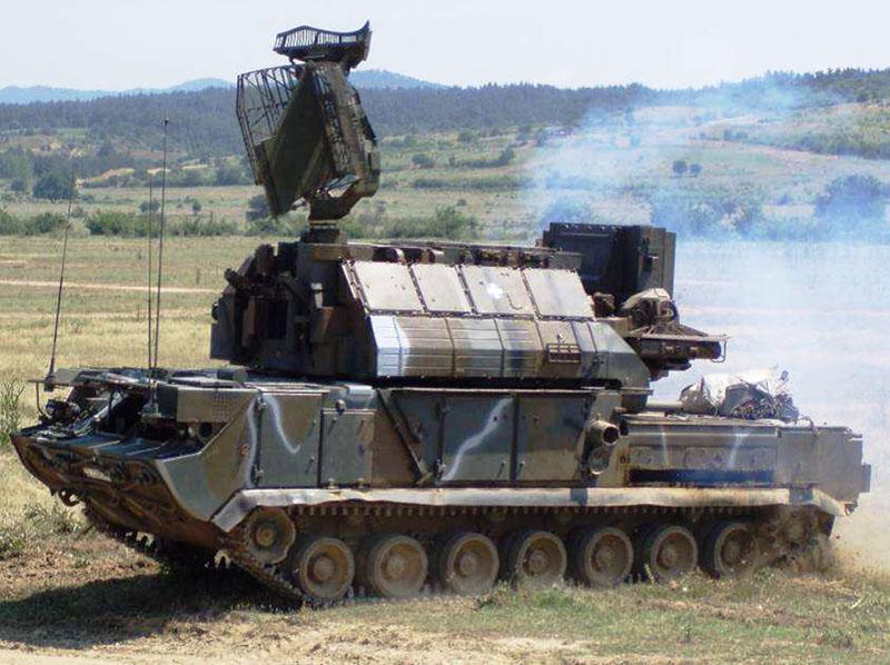 Зенитно-ракетный комплекс «Тор-М1» на вооружении армии Греции