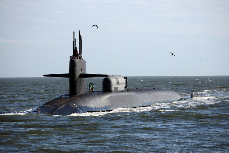 Атомная подводная лодка класса «Огайо».