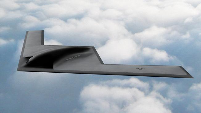 Новый стелс-бомбардировщик B-21 Raider.