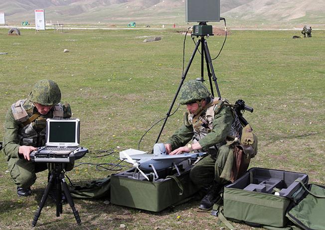 Подготовка к запуску беспилотника