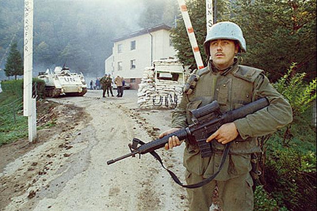 Миротворцы в Боснии