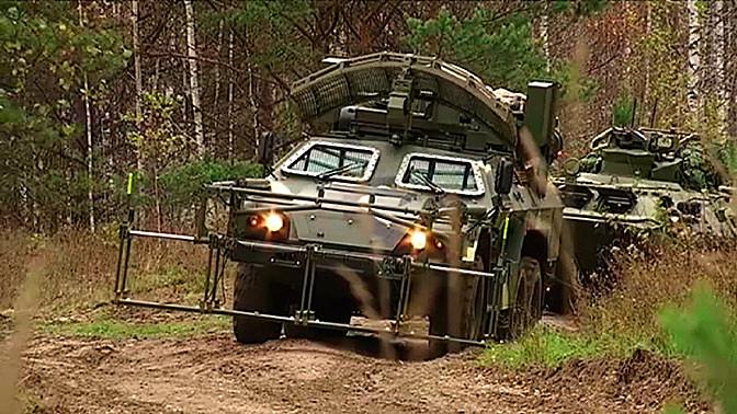 Машина дистанционного разминирования 15М107