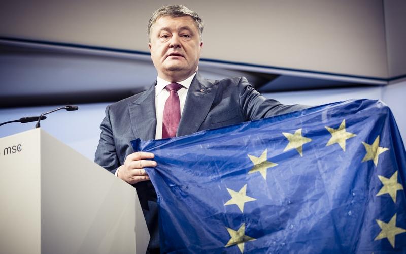 Президент Украины Петр Порошенко на Мюнхенской конференции по безпасности