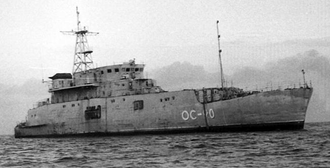 Корабль ОС-90 проекта 10030