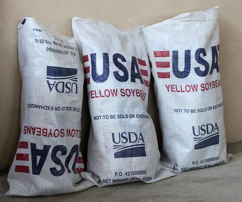 Ограничение ввоза американских соевых бобов