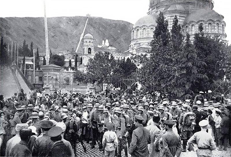 Германские войска в Тифлисе