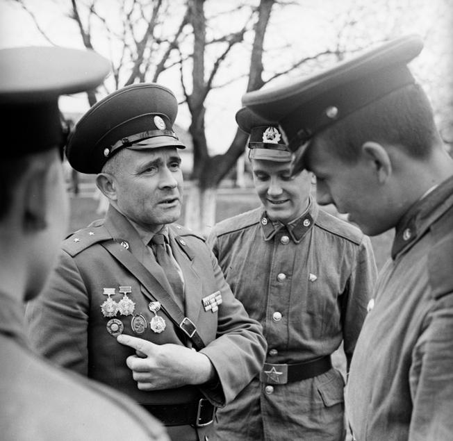 Прапорщик в Советской армии