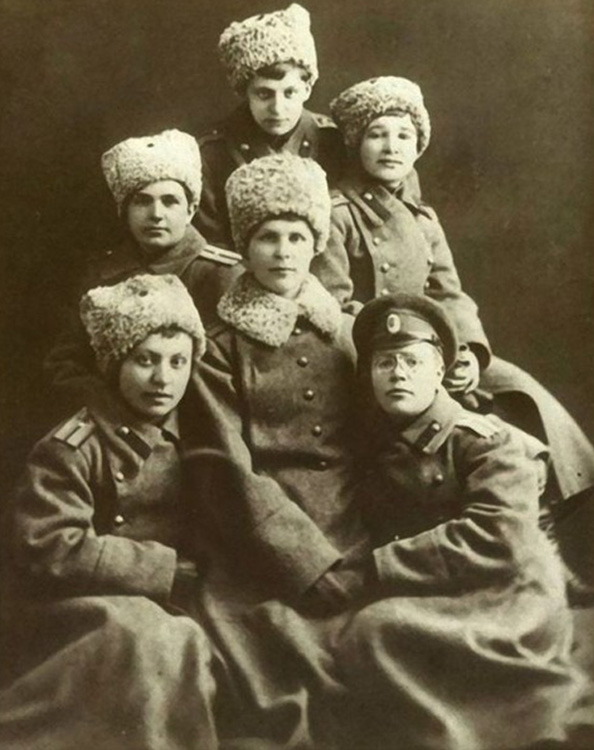 Прапорщики 1914 года