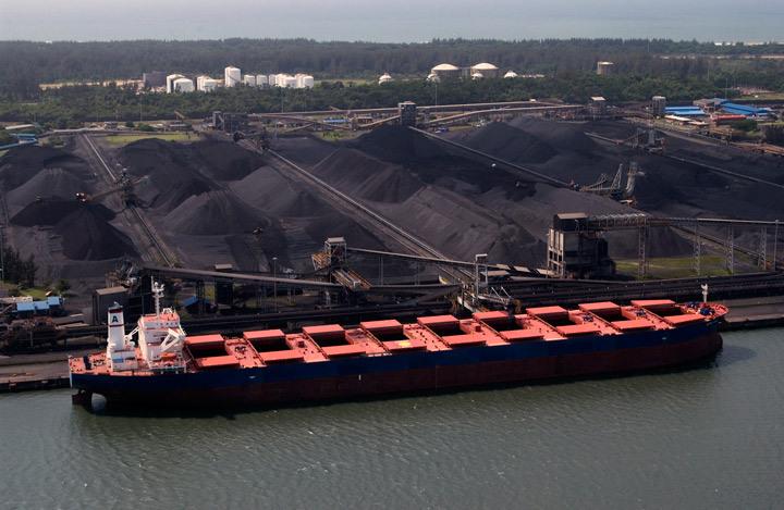 Отгрузка угля из США на Украину