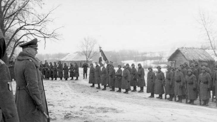 Командующий группой армий «Центр» генерал фон Клюге