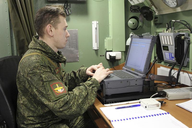 Солдат научной роты