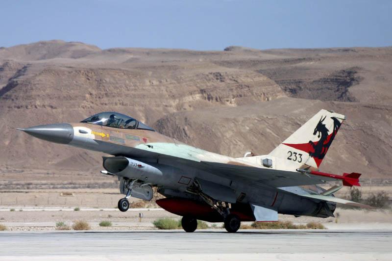 F-16А израильских ВВС
