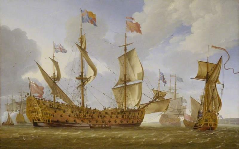 Английская эскадра