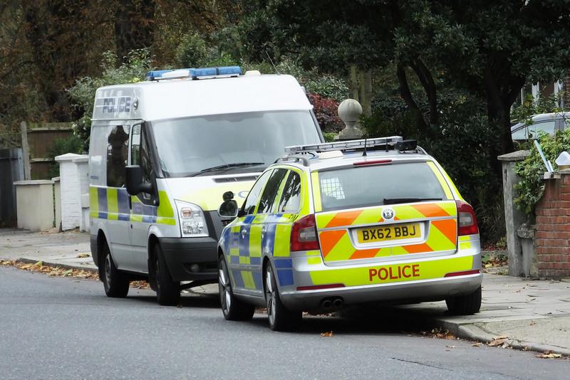 Английская полиция