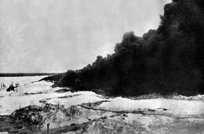 Огнемет Первой мировой