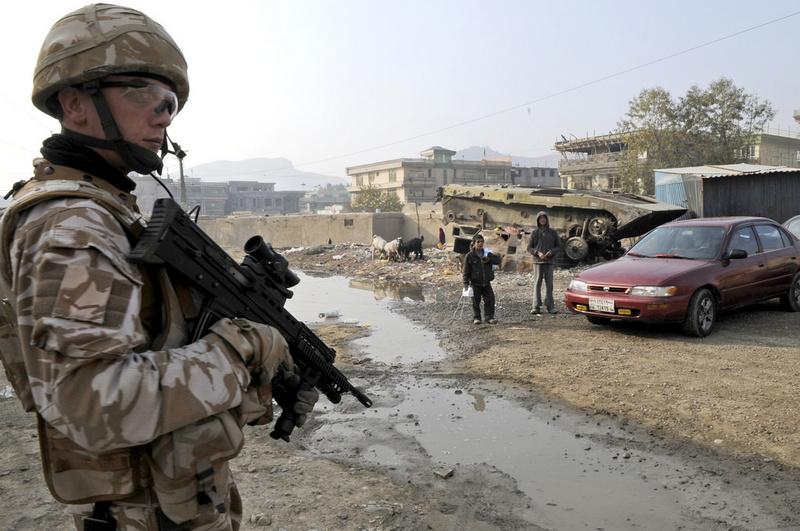 Военные сил НАТО на Ближнем Востоке